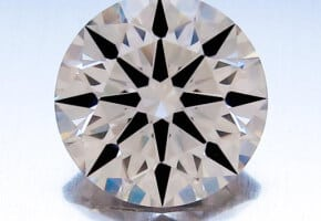 Beautiful Diamond for Less Than $10,000: 1.26 Carats, J Color, VS2 Clarity, AGS Certified Hearts and Arrows Round Brilliant Cut