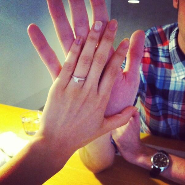 Love Asian princess ring kann der