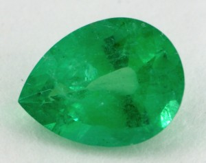 Emerald with Light Tone and Weak Saturation