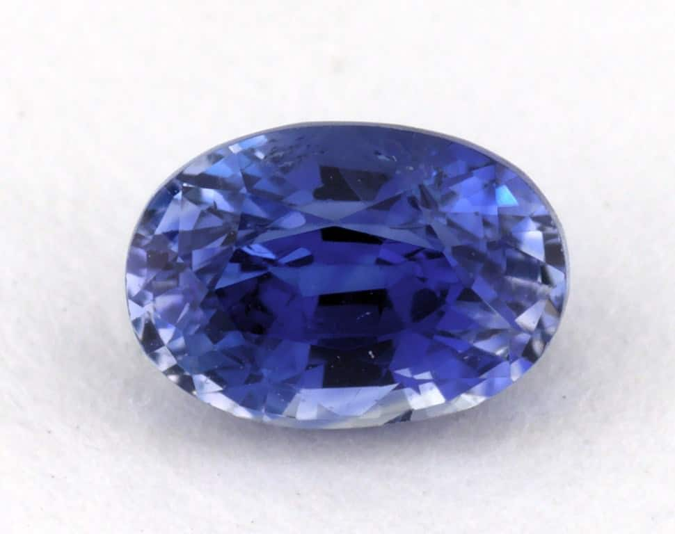 img heat oval gemstone carat cornflower faceted only product blue ceylon sapphire