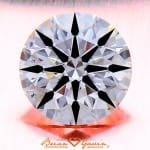 Great Diamond for $5,500; 1.02 Carats, J Color, SI2 Clarity, AGS Certified Hearts and Arrows Round Brilliant Cut