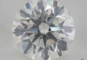 One Carat Round Diamond for $4,000: 1.07 Carats, J Color, Si2 Clarity, Excellent Cut