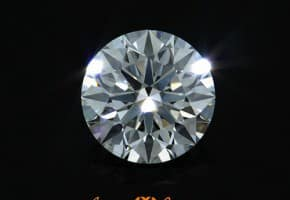 One Carat Round Diamond For $8,000 – I Color, VS1 Clarity, Ideal Cut AGS Certified Hearts and Arrows Diamond