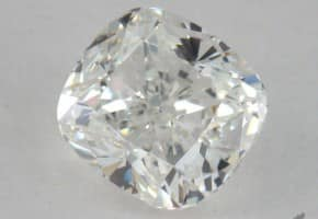One Carat Cushion Cut Diamond For $4,000: 1.00 Carats, H Color, SI1 Clarity GIA Certified Diamond