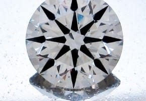 Great 1ct Round Diamond For $6,500: 1.150 Carat, K Color, VS2 Clarity AGS Certified Diamond
