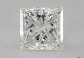 Two Carat Princess For $13,000: 2.00 Carats, I Color, VS2 Clarity GIA Certified Diamond
