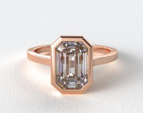rose gold bezel setting cropped