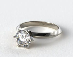 tiffany style solitaire setting