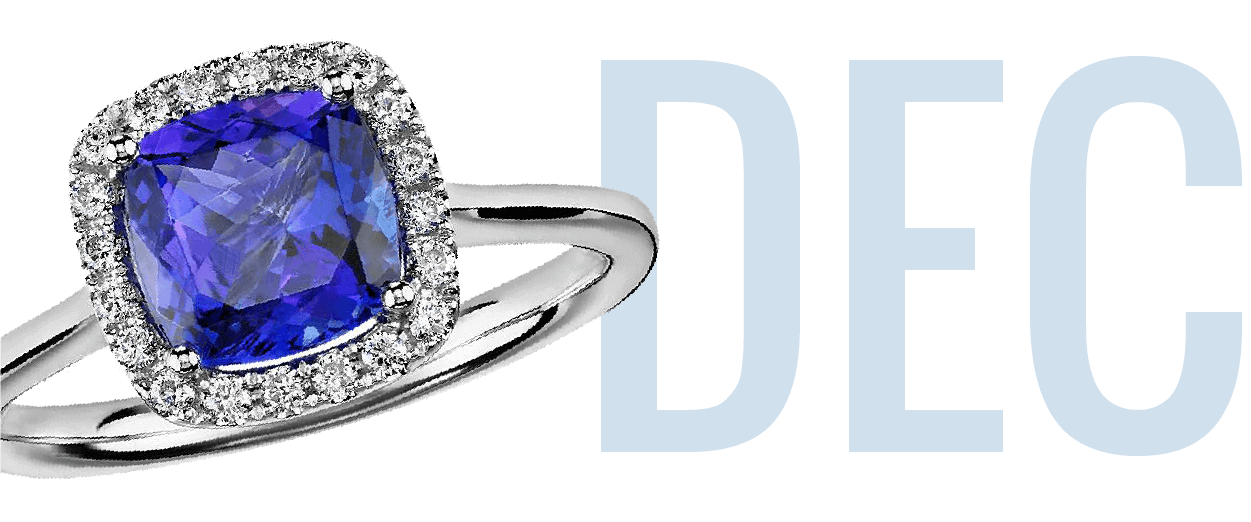 Tanzanite December Birthstone Ring