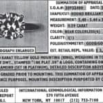 Q&A: Help Finding a 1 Ct. Round Diamond for a Yellow Gold Solitaire to Replace a Lost Stone