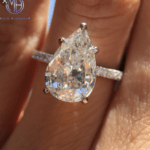 Q&A: Looking for a 2.5 Ct. Pear-Shaped Diamond for a Pavé Setting