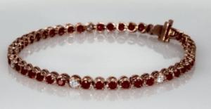 Vintage Gemstone Bracelet for Mom
