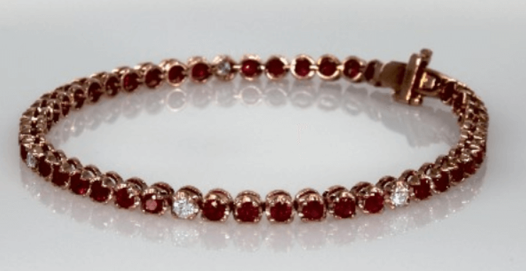 Vintage Gemstone Bracelet for Mom