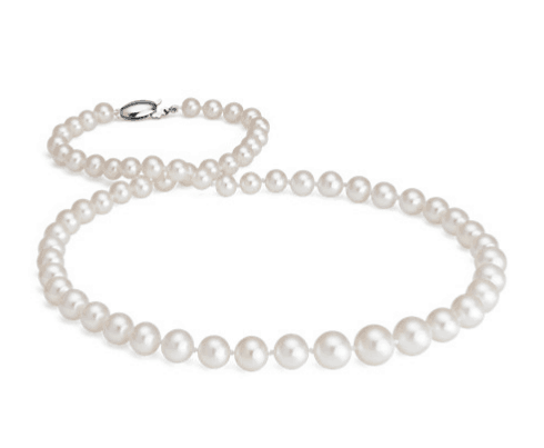 Freshwater Cultured Pearl Graduated Strand Necklace