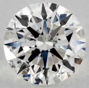 I1 diamond not eye-clean