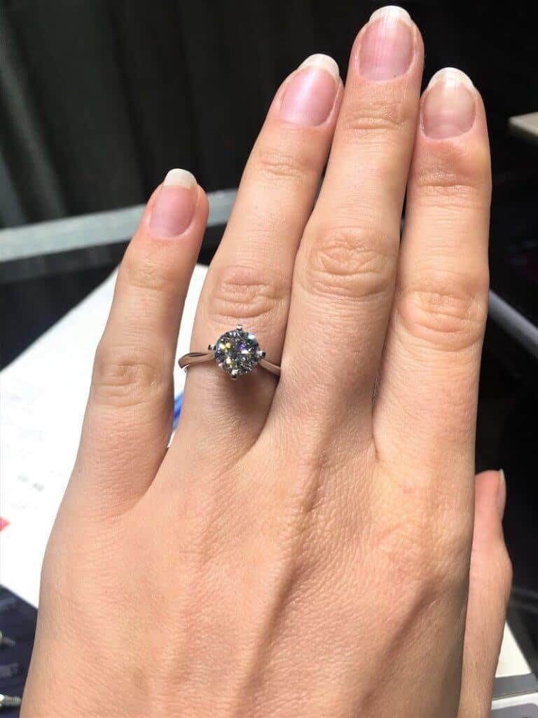 1.51 carat diamond at chow tai fook hong kong