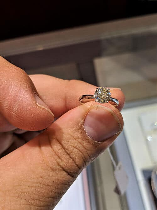 The second ring we saw at the ION location