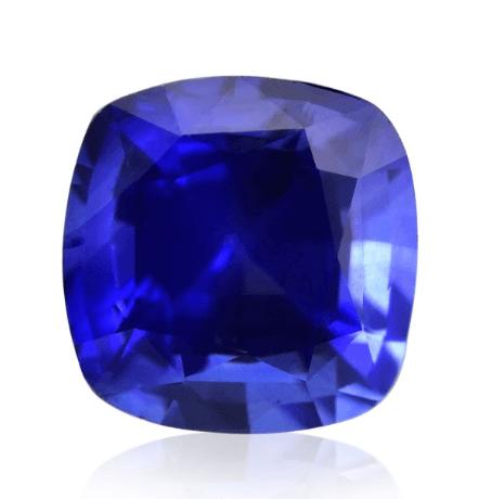 1.25ct Blue, Sri Lankan Sapphire in Cushion Shape