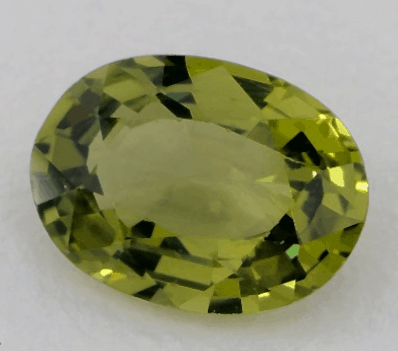 1.34ct Oval Natural Green Sapphire