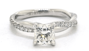 Diamond Engagement Ring By James Allen
