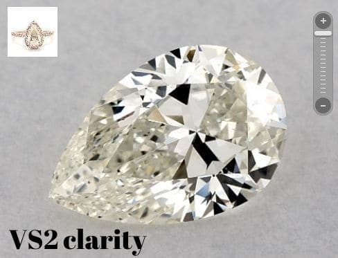 VS2 CLARITY DIAMOND FOR SI1 DIAMOND GUIDE