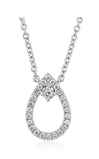 Diamond Petite Pear Necklace