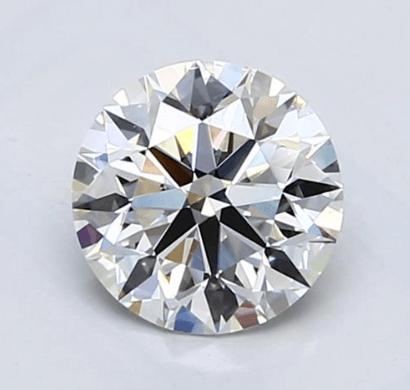 eye-clean VS2 round cut diamond Blue Nile