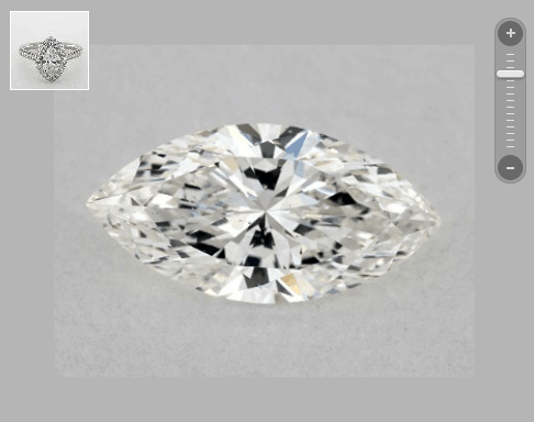 SI1 clarity marquise for SI2 clarity example