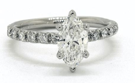 SI2 clarity diamond ring