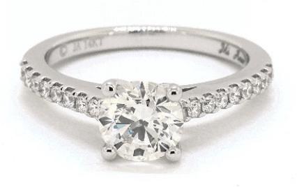 sI2 diamond ring