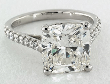 5ct cushion cut from James Allen