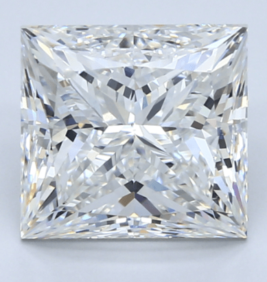 5ct Princess cut Blue Nile