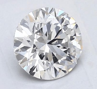 1ct g SI1 round cut from blue nile