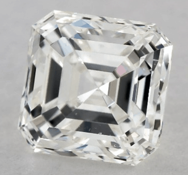 1ct G SI1 asscher cut from james allen