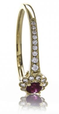 Ruby/Diamond Anniversary Ring from Brian Gavin