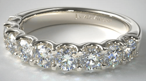 Nine stone Diamond Ring from James Allen