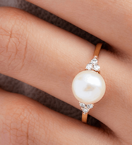Pearl Ring From James Allen