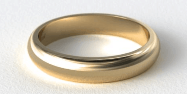 14K Yellow Gold 5mm Wedding Band