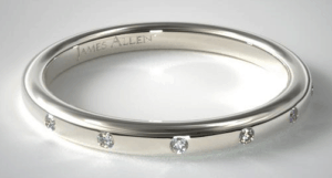 Accent Diamond Ring from James Allen
