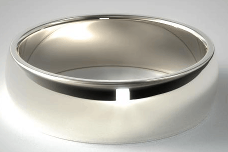 8mm Palladium Comfort Fit Wedding Ring from James Allen