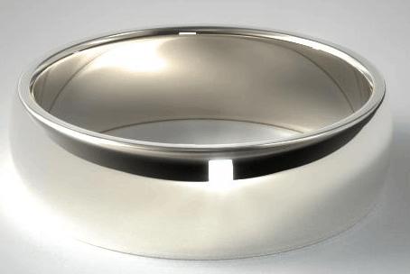 8mm Palladium Comfort Fit Wedding Ring from James Allen