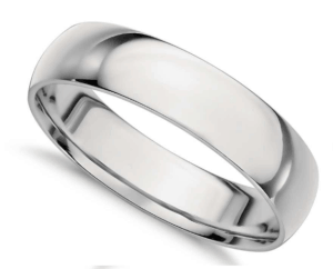5mm Comfort Fit Platinum Wedding Ring from Blue Nile