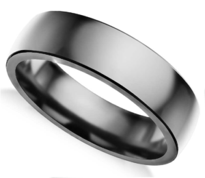 6.5mm Tantalum Comfort Fit Wedding Ring from Blue Nile