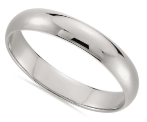 Classic Wedding Ring in 14K White Gold from Blue Nile