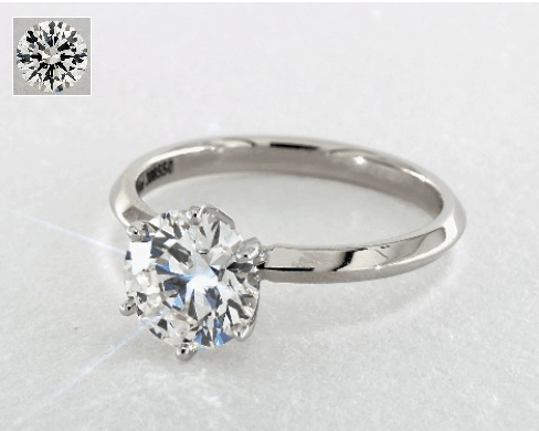 Solitaire Engagement Ring for $10,000