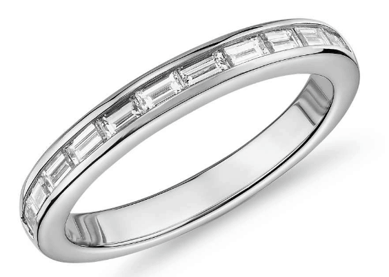 Baguette-Cut Diamond Eternity Ring