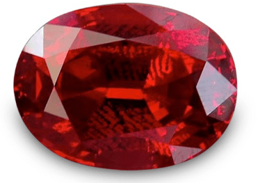 16.44 carat, Red, Tanzanian Spinel