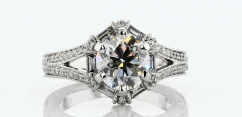 1.50ct Vintage Engagement RIng