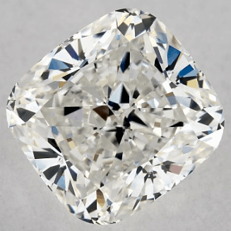 Well-Cut 2.51ct H/VS1 Cushion Cut Diamond