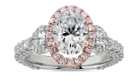 Bella Vaughan for Blue Nile Catarina Diamond Engagement Ring